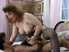 Mature plump bitch crawls for cock