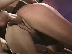 Big tits hardcore sex with retro star
