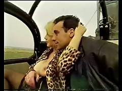 Guy Takes Busty Blonde On A Helicopter Ride