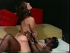 White girls with black guy - Softcore Interracial from 1976