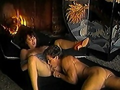 Asian whore bitch prides in cock sucking