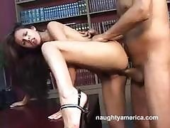 Shy Love Is A Yummy Brunette Porn Babe Who Gets A Good Banging In This Vintage Clip