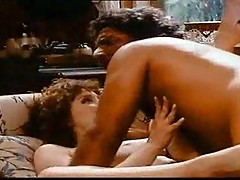Vintage blowjob and fuck action