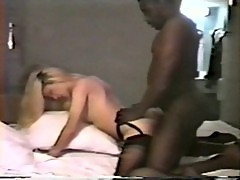 Blonde lady black lover