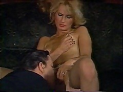 Vintage whore double dicked hard
