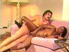 Retro mustache man bangs black hottie