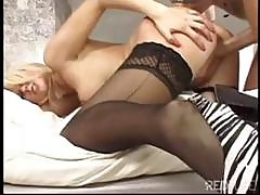 Smooth Blonde Is Nailed The Classic Way