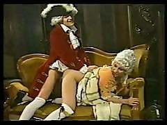 Period Piece With Blonde Getting Nailed And The Maid Getting Cock To Suck