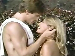 Good Old Vintage Porn Flick With Cute Chick Fucking Outdoors