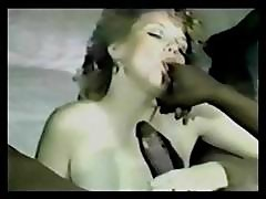 Vintage Interracial Blowjob