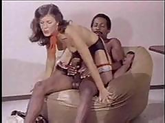Vintage Interracial Anal
