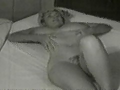 Virginia Bell - Showers and Relaxes in Bed