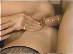 80s anal threesome