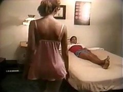 Home hardcore of busty retro wife