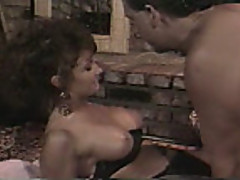 Ashlyn Gere fucked by fireplace