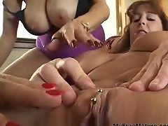 Cara Lott Gets Her Cunt Basted By Tongues mature mature porn granny old cumshots cumshot