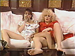 Christy Canyon in contrasting lesbians