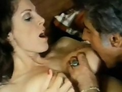 Old school Kay Parker fucks the waiter