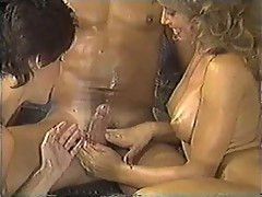 Nikki Knights Threesome with hot blonde