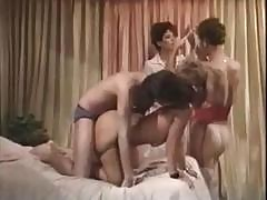 Tanya Foxx, Tom Byron And Others Get Humping In This Vintage Classic